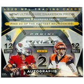 2020 Panini Prizm Football 3-Box- DACW Live 32 Spot Random Team Break #5