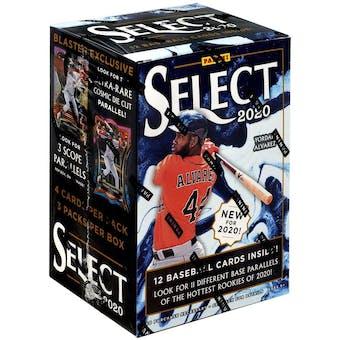 2020 Panini Select Baseball 3-Pack Blaster Box