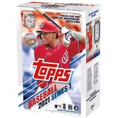 2021 Topps Series 1 Baseball Blaster Box