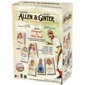 2020 Topps Allen & Ginter Baseball 8-Pack Blaster Box