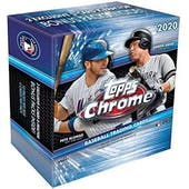 2020 Topps Chrome Baseball Mega 40-Box Case