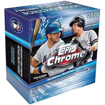 2020 Topps Chrome Baseball Mega Box