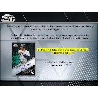 2020 Topps Chrome Black Baseball 5-Box- DACW Live 6 Spot Random Division Break #1