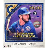 2020 Topps Gallery Baseball Monster Box