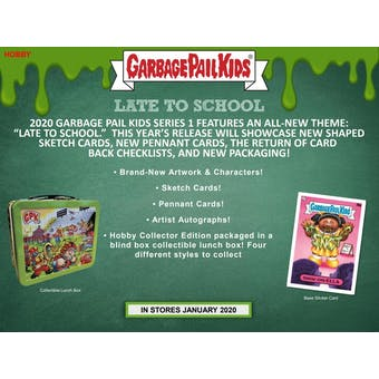 Garbage Pail Kids Series 1 Late To School Collectors Box (Topps 2020) (Presell)