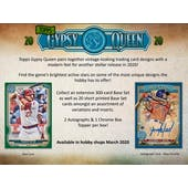 2020 Topps Gypsy Queen Baseball Hobby Box (Presell)