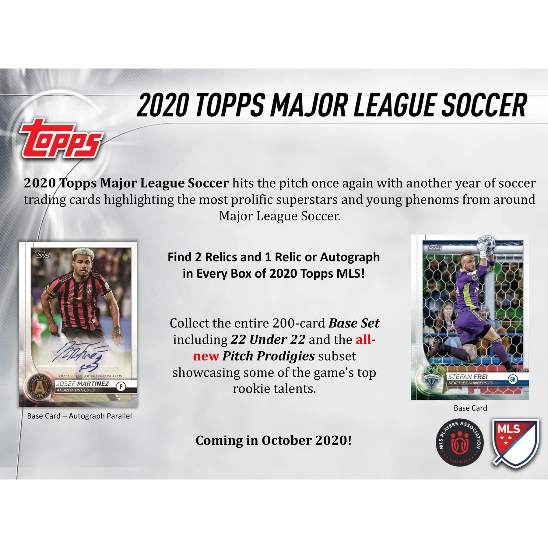 2020 Topps Mls Major League Soccer Hobby Box Presell Da Card World