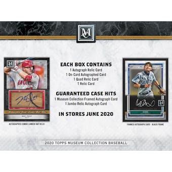 2020 Topps Museum Collection Baseball 3-Box- DACW Live 6 Spot Random Division Break #2