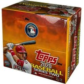 2020 Topps Series 2 Baseball 24-Pack Box