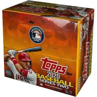 2020 Topps Series 2 Baseball 24-Pack Box