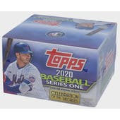 2020 Topps Series 1 Baseball 24-Pack Box