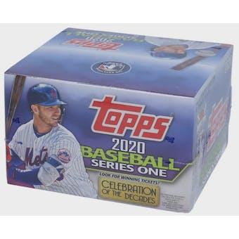 2020 Topps Series 1 Baseball 24-Pack Box
