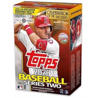2020 Topps Series 2 Baseball 7-Pack Blaster Box