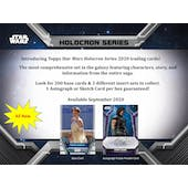 Star Wars Holocron Series Hobby 3-Box Lot Special (Topps 2020) - SHIPS LATE DECEMBER