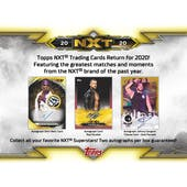 2020 Topps WWE NXT Wrestling Hobby 3-Box Lot - SHIPS LATE DECEMBER