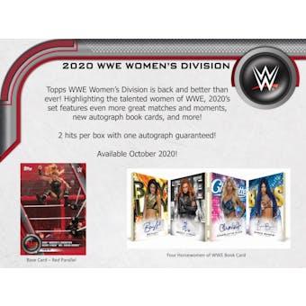 2020 Topps WWE Women's Division Wrestling Hobby Box (Presell)