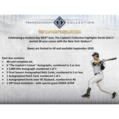 2020 Topps Transcendent Captain's Collection Hobby Case