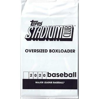 2020 Topps Stadium Club Baseball Oversized Boxloader Pack