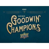 2020 Upper Deck Goodwin Champions Hobby 8-Box Case (Presell)