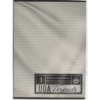 2020 Upper Deck UDA Threads Autographed Jersey 4-Box Case