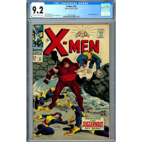 X-Men #32 CGC 9.2 (OW-W) *2020251009*
