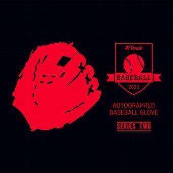 2020 Hit Parade Auto Baseball Glove Series 2- 1-Box- DACW Live 6 Spot Random Division Break #9