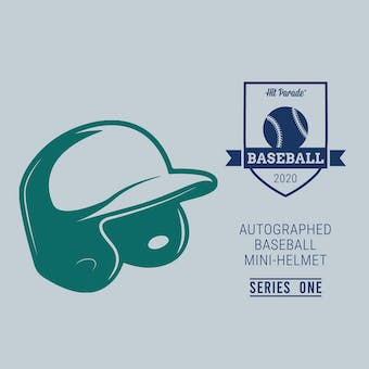 2020 Hit Parade Auto Baseball Mini Helmet Series 1- 1-Box- DACW Live 6 Spot Random Division Break #2