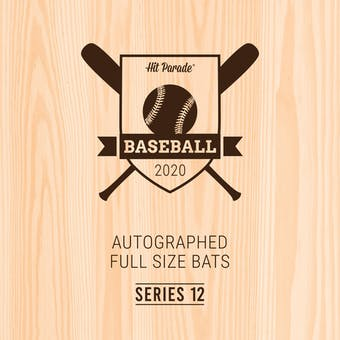 2020 Hit Parade Autographed Baseball Bat Hobby Box - Series 12 - Mike Trout & Juan Soto!!!