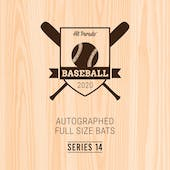 2020 Hit Parade Autographed Baseball Bat Hobby Box - Series 14 - Judge, Aaron, & Tatis Jr.!!!