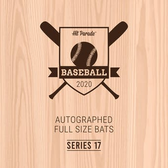 2020 Hit Parade Autographed Baseball Bat Hobby Box - Series 17 - Ken Griffey Jr. & Jasson Dominguez!!!