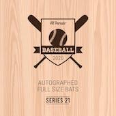 2020 Hit Parade Autographed Baseball Bat Hobby Box - Series 21 - Griffey Jr., Judge, Bellinger & Tatis Jr.!!!