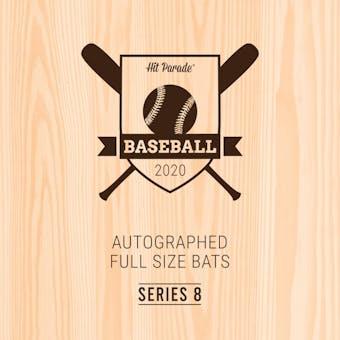 2020 Hit Parade Autographed Baseball Bat Hobby Box - Series 8 - Ichiro, Tatis Jr. & Y. Alvarez!!