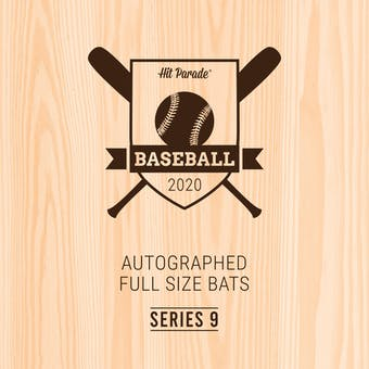 2020 Hit Parade Autographed Baseball Bat Hobby Box - Series 9 - Mike Trout & Juan Soto!!!