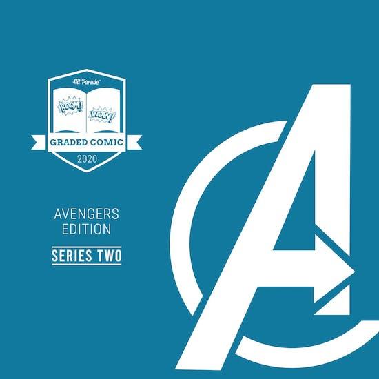 2020 Hit Parade Avengers Graded Comic Edition Hobby Box - Series 2 - Avengers #1 & Hulk #2!