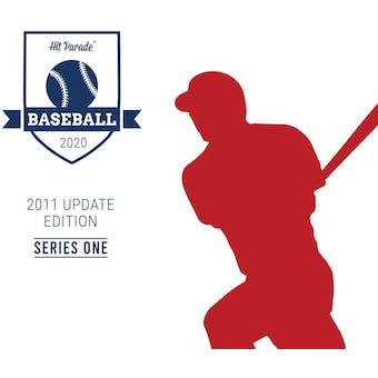 2020 Hit Parade '11 Topps Update Series 1 Baseball - 2-Box- DACW Live 6 Spot Random Division Break #4