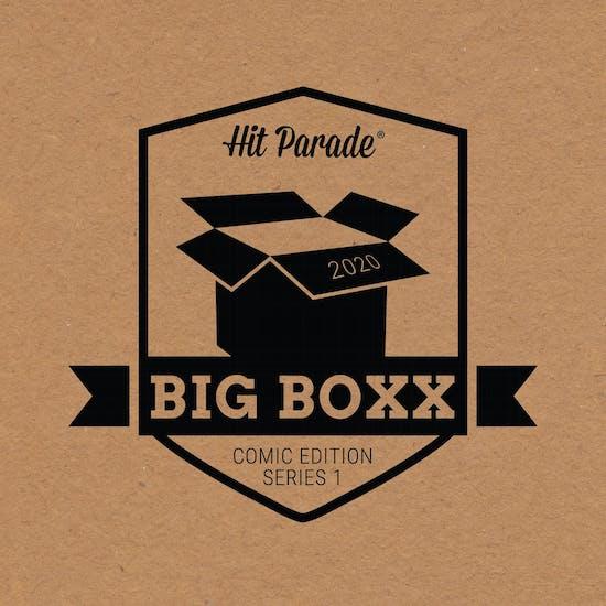 2020 Hit Parade Comic Big Box - Series 1 - 1ST BATGIRL, BLACK CAT, VISION ORIGINAL ART PEREZ MILLER