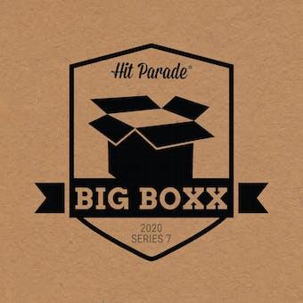 2020 Hit Parade Autographed BIG BOXX Hobby Box - Series 7 - LEBRON, ZION, PEYTON & BURROW!!!