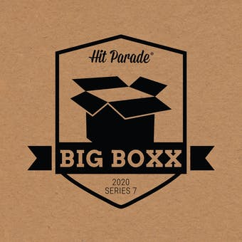 2020 Hit Parade Autographed BIG BOXX Hobby Box - Series 7 - LEBRON, ZION, PEYTON & BURROW!!!