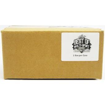 2020 Leaf Best Of Multi-Sport Premium Edition Hobby Box