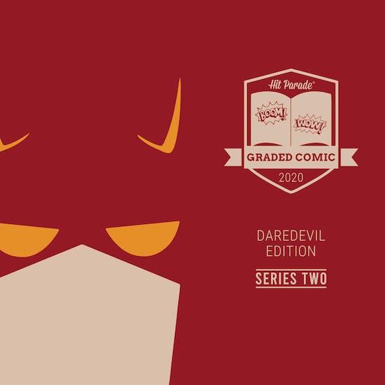 2020 Hit Parade Daredevil Graded Comic Edition Hobby Box - Series 2 - 1st App of Daredevil & Kingpin!