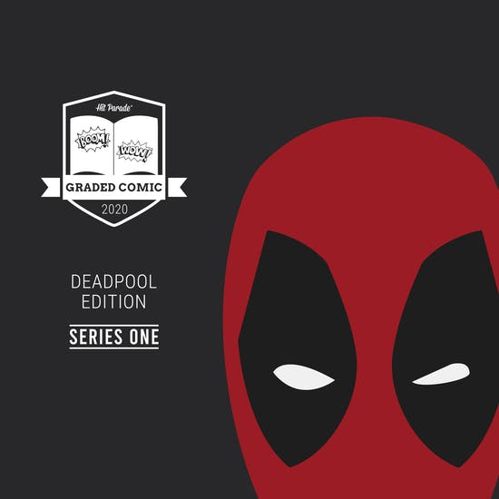 2020 Hit Parade Deadpool Graded Comic Edition Hobby Box - Series 1 - 1st Appearance & Loaded Autos!