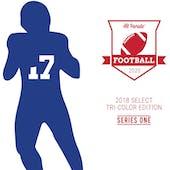 2020 Hit Parade '18 Select Tri-Color Concourse Series 1 Football Hobby Box /50 Allen-Lamar-Baker (Ships 2/5)