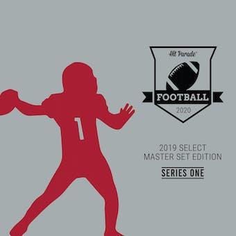 2020 Hit Parade '19 Select Master Set Series 1 Football Hobby Box /100 Kyler-Lock-DK!!