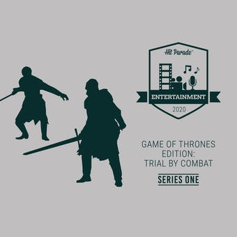 2020 Hit Parade Entertainment POP Vinyl Game of Thrones: Trial by Combat Edition - Series 1