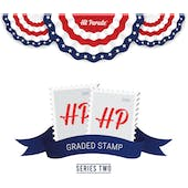 2020 Hit Parade Graded Stamp Edition - Series 2 - Hobby Box - Graded PSE Stamps!