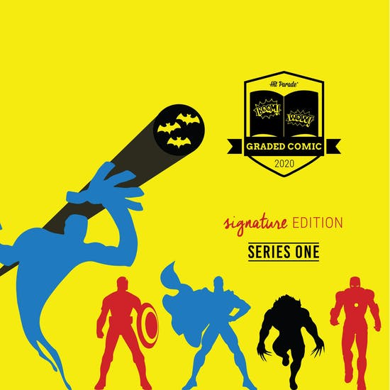 2020 Hit Parade Signature Series Graded Comic Edition Hobby Box - Series 1 - Incredible Hulk #181 Signed Stan