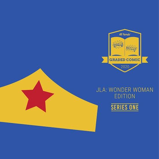 2020 Hit Parade JLA: Wonder Woman Graded Comic Edition - Series 1 - GOLDEN AGE WONDER WOMAN!