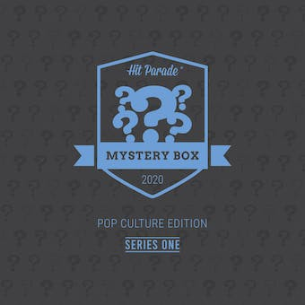 2020 Hit Parade POP Culture Mystery Box - Series 1 - Tom Holland Autographed Action Figure!