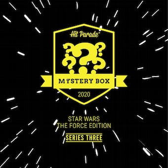 2020 Hit Parade Mystery Box Star Wars The Force Edition - Series 3 - AFA Figures & Auto POPs!