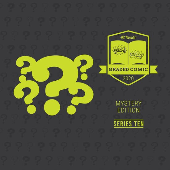 2020 Hit Parade Mystery Graded Comic Edition Hobby Box - Series 10 - Signature Series Comics!